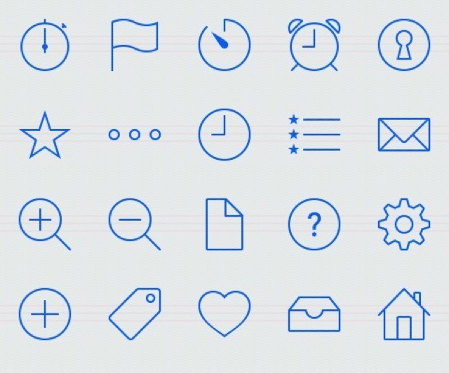 Glyphish: Stock Icons That'll Look Great On iOS 7