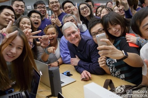 Tim Cook: Apple has China in mind when designing new products