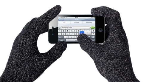 Soon you'll be able to use your iPhone while wearing gloves