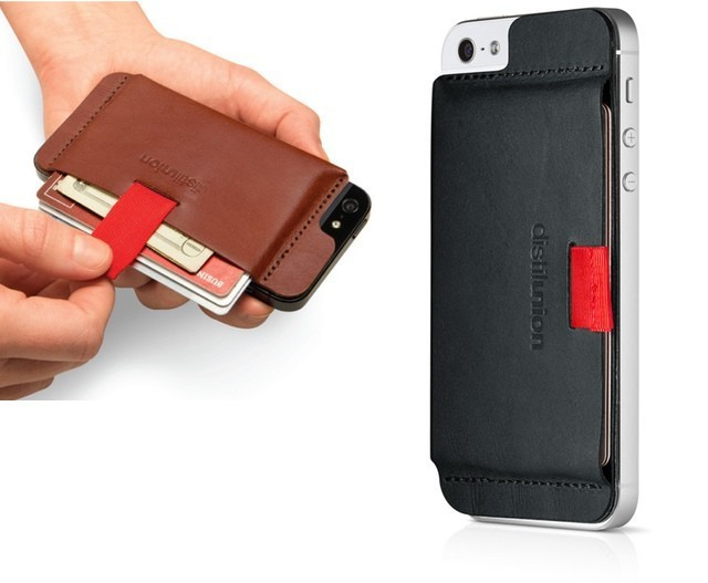 Wally Turns Your iPhone Into A Handsome Leather Wallet