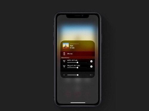 How to use iOS 13's Audio Sharing