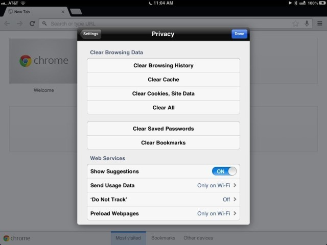 Protect Your Privacy – Clear Cache Files, Browsing History, And Cookies From Chrome [iOS Tips]