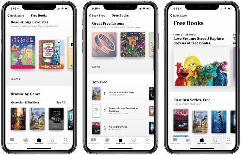 Apple Books: Free novels and audiobooks to get you through self-isolation