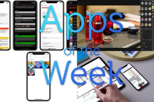 Grab the best new photo, note-sketching and text-fixing apps you'll see this week