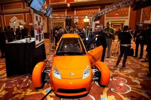 Sexy sci-fi car gets 84 mpg, costs less than a Mac Pro