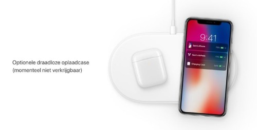 AirPower charging mat appears briefly on Apple's website