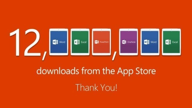Download Gold: Office for iPad Strikes it Rich
