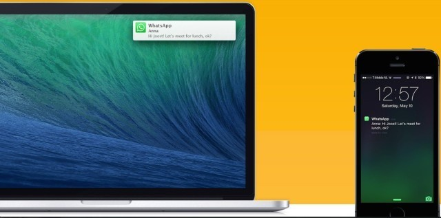 Notifyr lets you read iOS notifications on your Mac