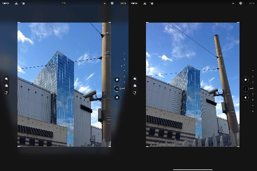 How to crop, straighten and unskew photos on iPad and iPhone