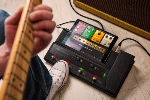 This box turns your iPad into the ultimate guitar pedalboard