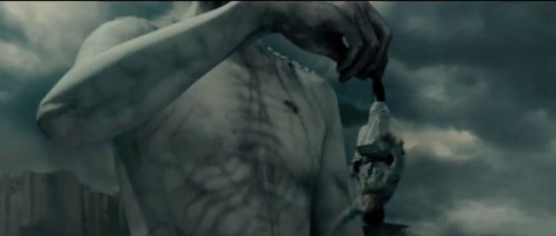 Giants gobble tiny humans in first Attack on Titan trailer