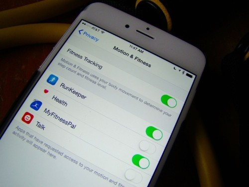 Shield your iPhone fitness data from other apps' prying eyes