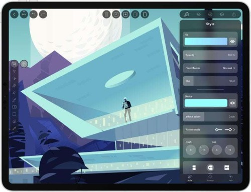 Create professional-grade graphics on your iPad and iPhone