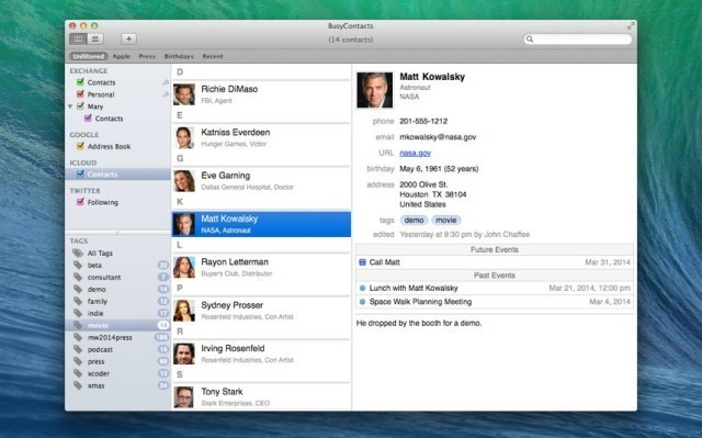 BusyContacts Promises To Fix Your Address Book. At Last