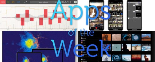 The best stereo, video and game apps this week