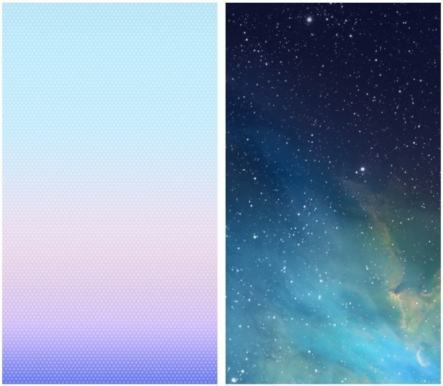 Get Apple's iOS 7 Wallpapers On Your iPhone Right Now