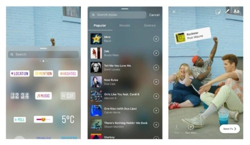 Instagram now lets you add music soundtracks to Stories