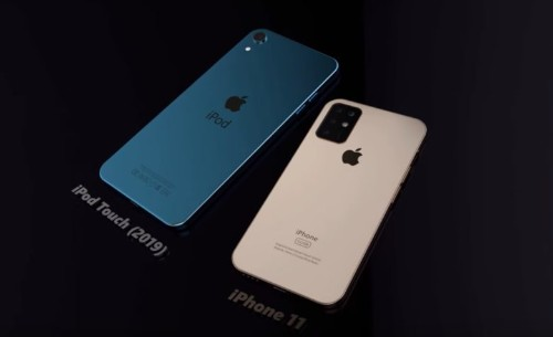 Brilliant concept brings 7-inch display to iPod Touch 7