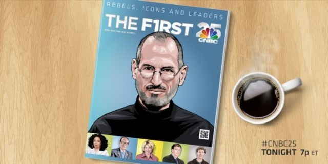 Steve Jobs is the most influential person of the past 25 years, says CNBC