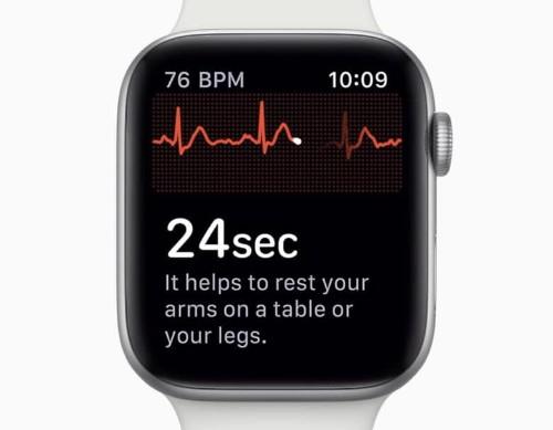 Apple Watch wearers in U.K. could wait years for ECG feature