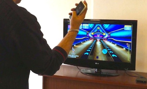 Get Wii-style bowling with an iPhone and Apple TV