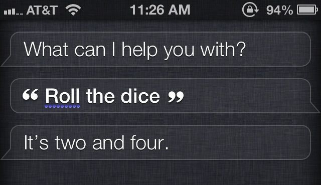 May The Odds Be Ever In Your Favor With Siri Dice Rolling Easter Egg