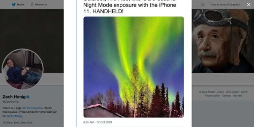 iPhone 11 Pro pix of Northern Lights will blow you away