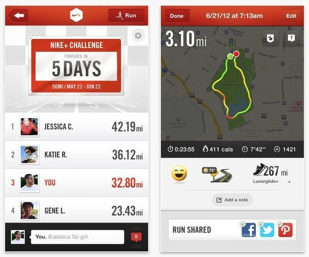 Nike+ Running Now Lets You Challenge Your Friends To A Race