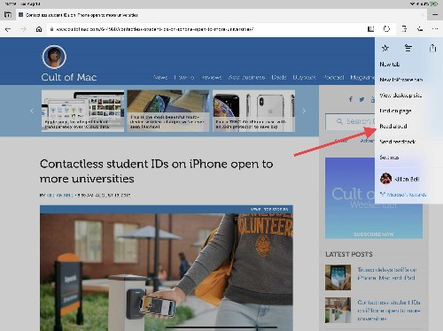 Microsoft Edge on iOS can now read your favorite websites aloud