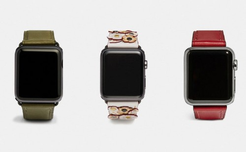 Coach busts out winter collection of Apple Watch bands