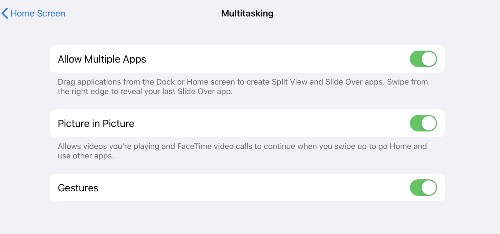 How to disable multitasking on your iPad