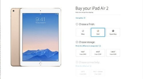Apple makes a sick amount of money selling more storage for iPad Air 2