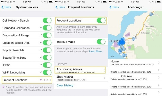How To Keep Your Frequent Locations Private On Your iPhone [iOS tips]