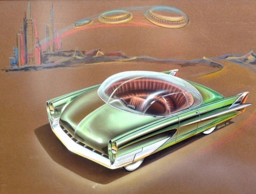 Exciting images from 'Golden Age of Auto Design' we almost didn't get to see