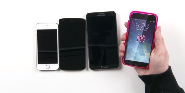 How Big Will The iPhone 6 Be Compared To The iPhone 5s, Nexus 5 And Galaxy Note 3? [Video]