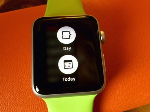Make Apple Watch calendar work for your wrist