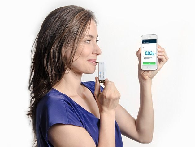 Track your blood alcohol content with the BACtrack Vio Smartphone Breathalyzer [Deals]