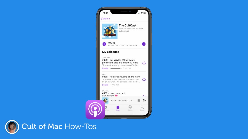 How to sort podcast episodes so that they play in the right order