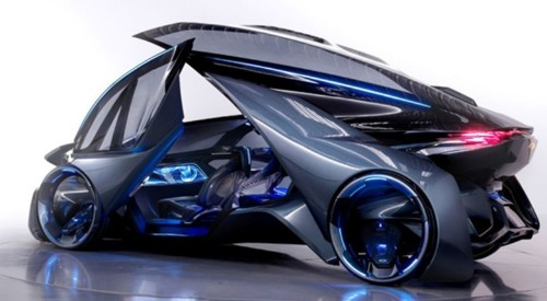 Let's hope Apple car is as sleek as this sci-fi Chevy