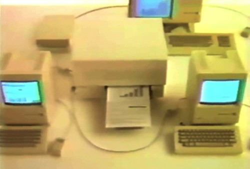 Today in Apple history: Macintosh Office gets down to business