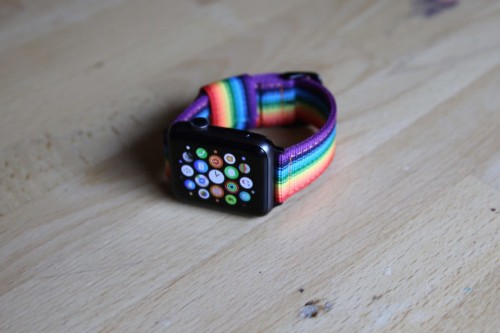 Celebrate Pride with this rainbow Apple Watch band [Pride Month]