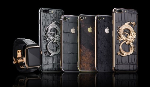 Ukrainian craftsman takes iPhone into new badass gilded era