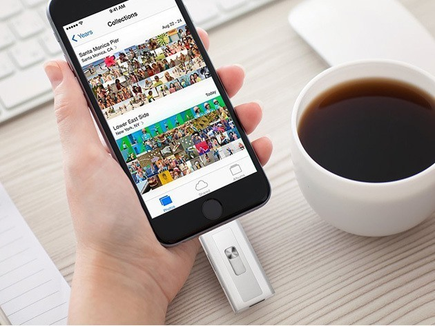 Instantly add gigs of capacity to your iPhone or iPad [Deals]