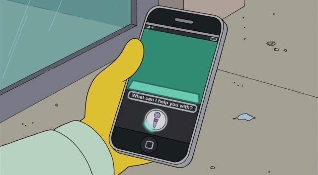 Siri Makes Another Hilarious Appearance On The Simpsons [Video]