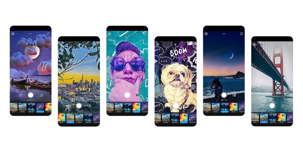 Adobe Photoshop Camera app brings 'AI Magic' to iPhone photos