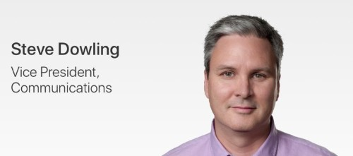 Apple's PR boss is leaving the company