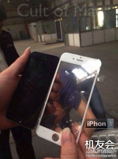 Leaked Image Appears To Show iPhone 6 Front Panel [Rumor]