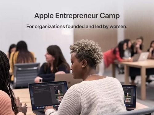 Apple's new Entrepreneur Camp helps women in tech