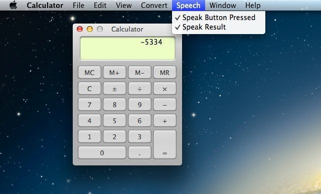 Enable Speech Mode And Make Your OS X Calculator Talk [OS X Tips]