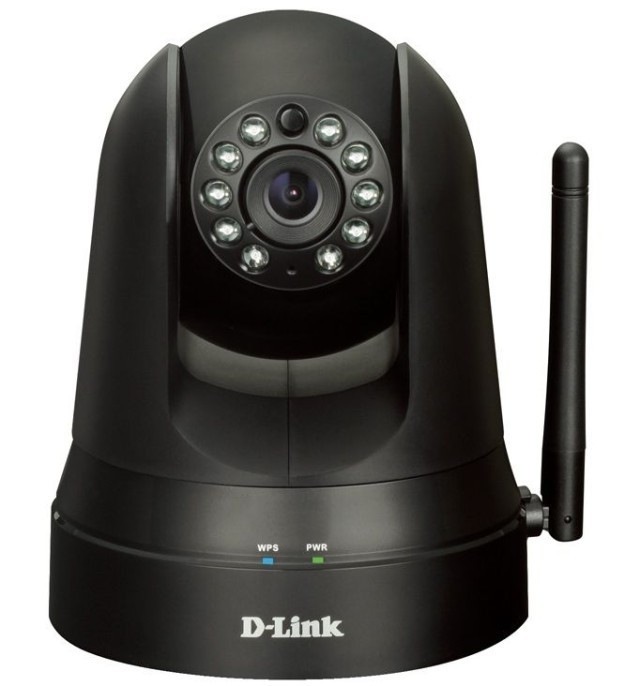 D-Link's New Security Camera Is Cheap, iPhone-Linked And Has Motorized Pan-And-Tilt Controls